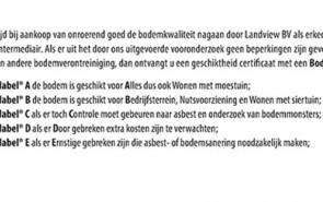 Landview Bodemlabel
